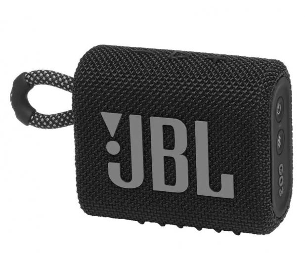 JBL GO 3 Czarny - 599260 - zdjęcie