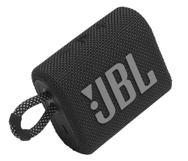 JBL GO 3 Czarny - 599260 - zdjęcie 2