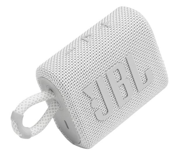 JBL GO 3 Biały - 599261 - zdjęcie 2