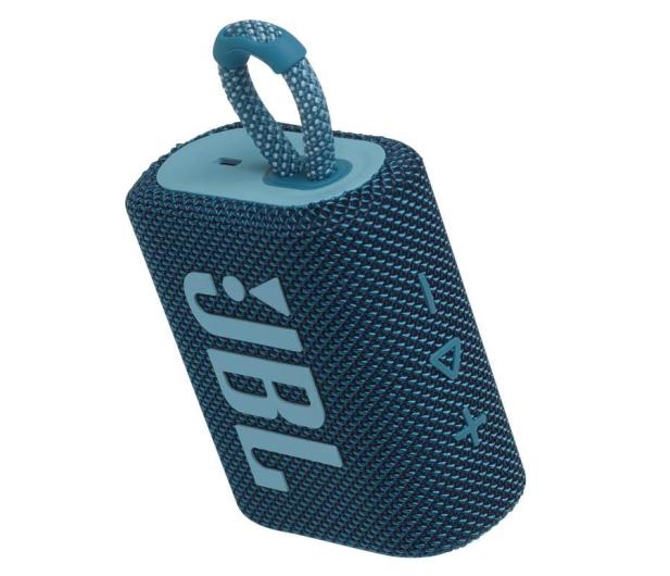 JBL GO 3 Niebieski - 599269 - zdjęcie 7