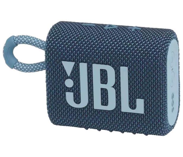JBL GO 3 Niebieski - 599269 - zdjęcie