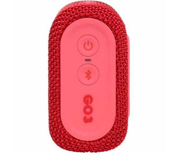 JBL GO 3 Czerwony - 599270 - zdjęcie 5