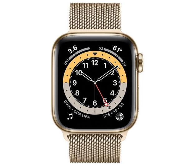 Apple Watch 6 40/Gold Steel/Gold Loop LTE - 594759 - zdjęcie 2