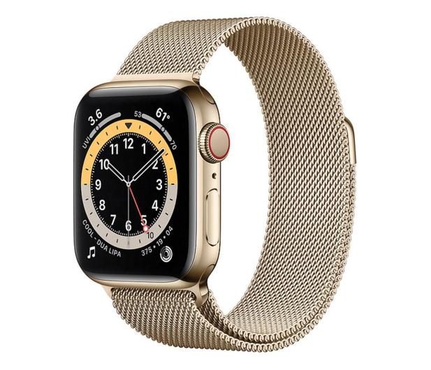 Apple Watch 6 40/Gold Steel/Gold Loop LTE - 594759 - zdjęcie