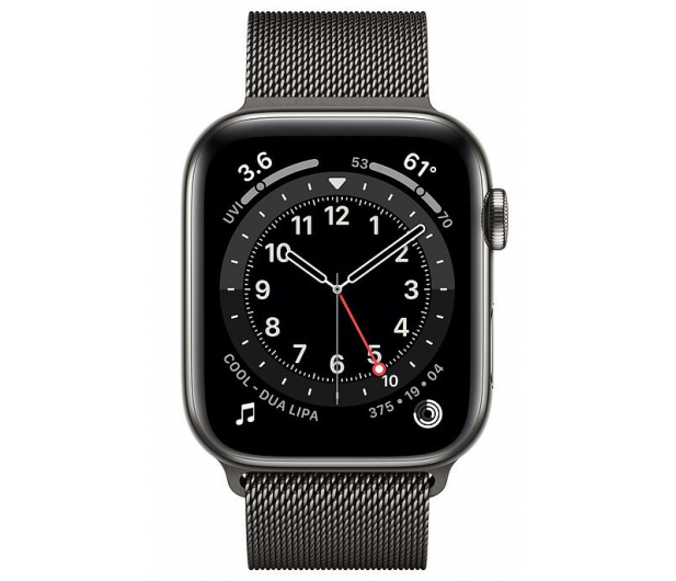 Apple Watch 6 44/Graphite Steel/Graphite Loop LTE - 595168 - zdjęcie 2