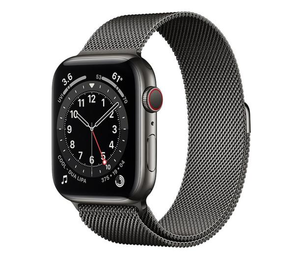 Apple Watch 6 44/Graphite Steel/Graphite Loop LTE - 595168 - zdjęcie