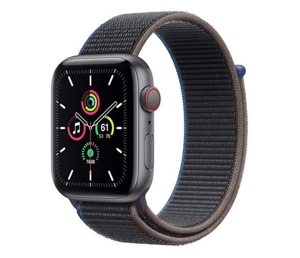 Apple Watch SE 44/Space Gray Aluminium/CharcoalSport LTE - 595347 - zdjęcie