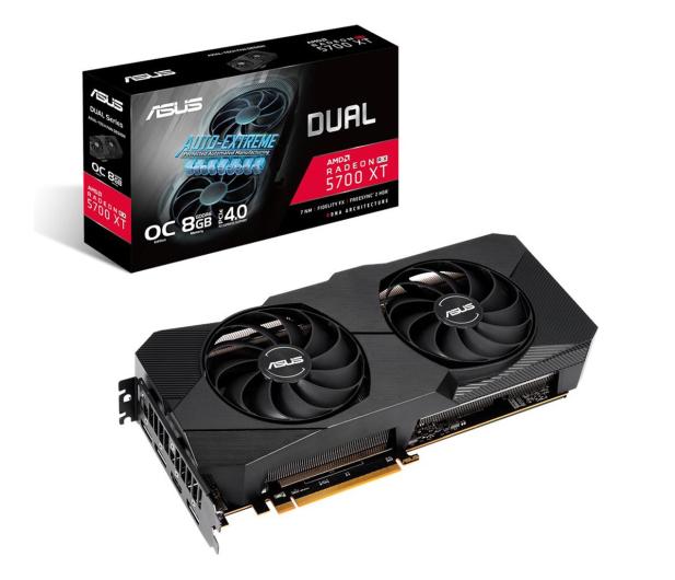 ASUS Radeon RX 5700 XT Dual Evo OC 8GB GDDR6  - 595029 - zdjęcie