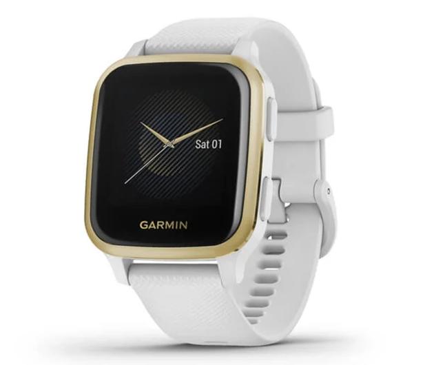 Garmin Venu Sq złoto biały - 594061 - zdjęcie