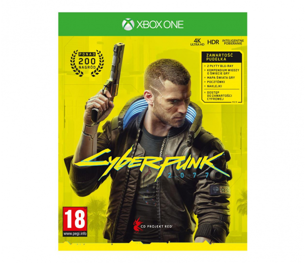 Xbox Cyberpunk 2077 - 500984 - zdjęcie