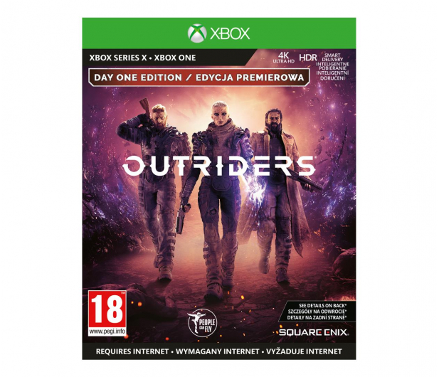Xbox Outriders Day One Edition - 546396 - zdjęcie