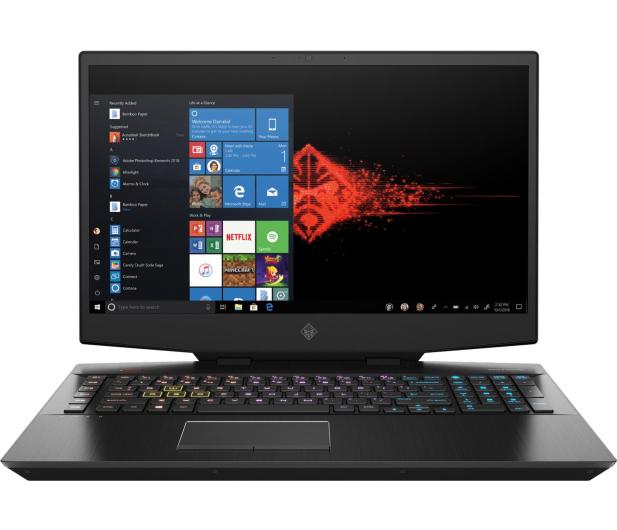 HP OMEN 17 i7-10750H/32GB/512/Win10 RTX2060 144Hz - 589677 - zdjęcie 3