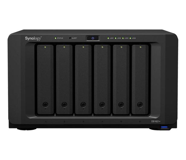 Synology DS1621+ (6 zatok, 2x M.2, CPU 4x2.2GHz, 4GB RAM) - 599255 - zdjęcie