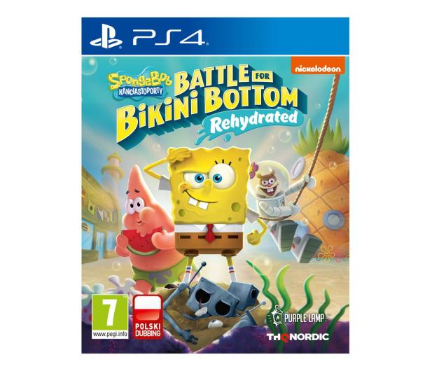 PlayStation SpongeBob: Battle for Bikini Bottom – Rehydrated - 593639 - zdjęcie