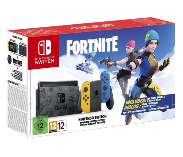 Nintendo Nintendo Switch: Fortnite Special Edition - 601385 - zdjęcie