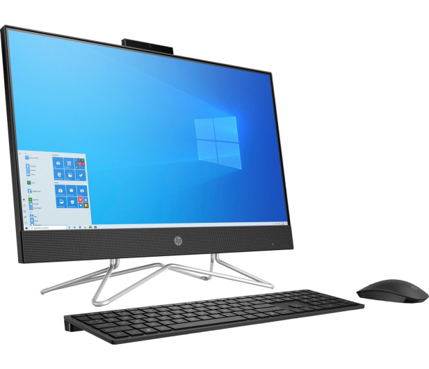 HP 24 AiO i3-10100T/4GB/256/Win10 Black - 596998 - zdjęcie 3