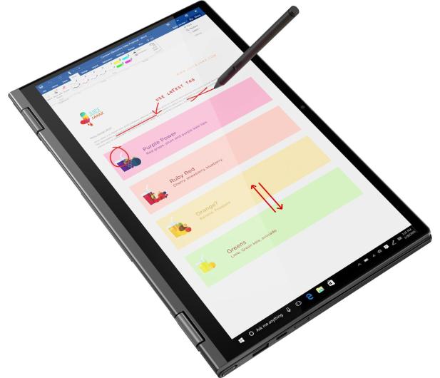 Lenovo Yoga C640-13  i7-10510U/16GB/512/Win10 Touch - 600343 - zdjęcie 6