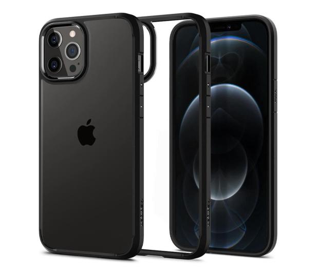 Spigen Ultra Hybrid do iPhone 12/12 Pro Black - 600495 - zdjęcie