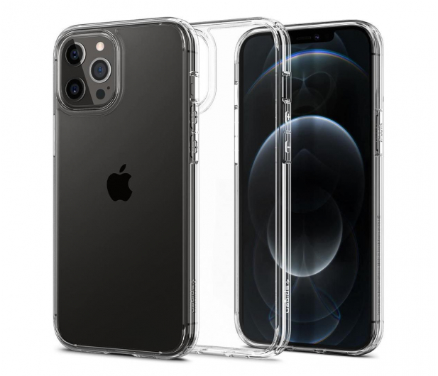 Spigen Ultra Hybrid do iPhone 12 Pro MAX Crystal Clear - 600517 - zdjęcie