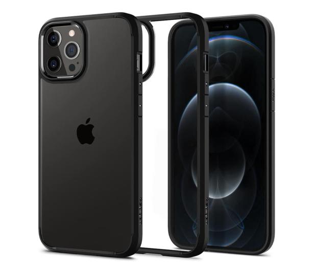 Spigen Ultra Hybrid do iPhone 12 Pro MAX Black - 600515 - zdjęcie