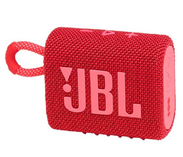 JBL GO 3 Czerwony - 599270 - zdjęcie