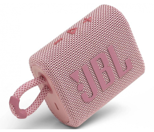 JBL GO 3 Różowy - 599263 - zdjęcie 2