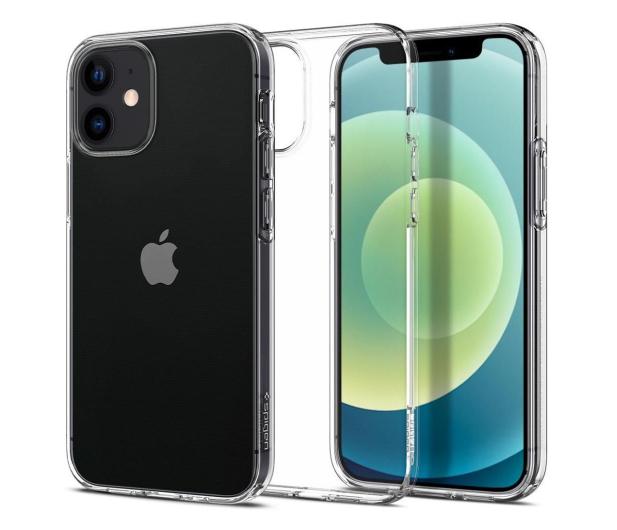 Spigen Liquid Crystal do iPhone 12 Mini Clear - 600696 - zdjęcie