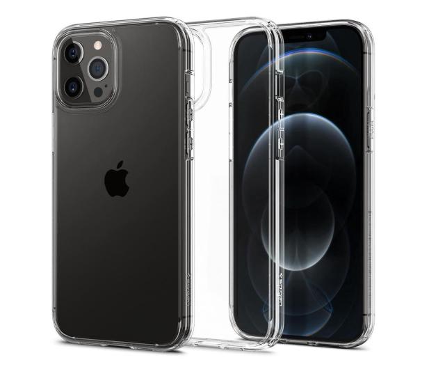 Spigen Ultra Hybrid do iPhone 12/12 Pro Crystal Clear  - 600494 - zdjęcie
