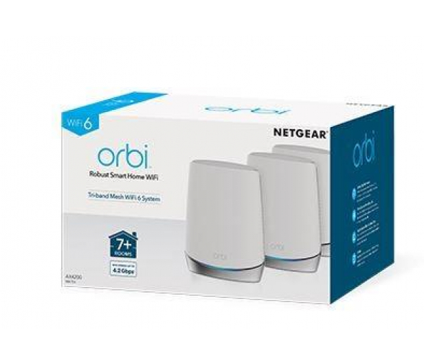 Netgear Orbi WiFi 6 RBK753 (4200Mb/s a/b/g/n/ac/ax) 3xAP - 602374 - zdjęcie 3