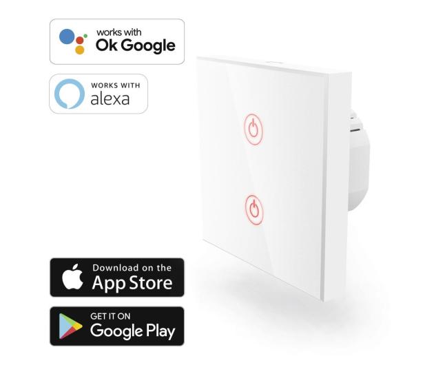 Hama Podwójny włącznik światła Wi-Fi  - 603133 - zdjęcie 2