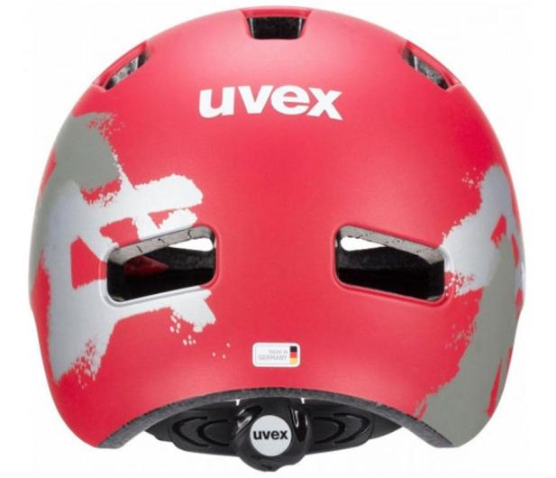 UVEX Kask Hlmt 4 cc czerwony graffiti 51-55cm - 595457 - zdjęcie 2