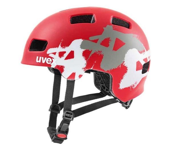 UVEX Kask Hlmt 4 cc czerwony graffiti 51-55cm - 595457 - zdjęcie