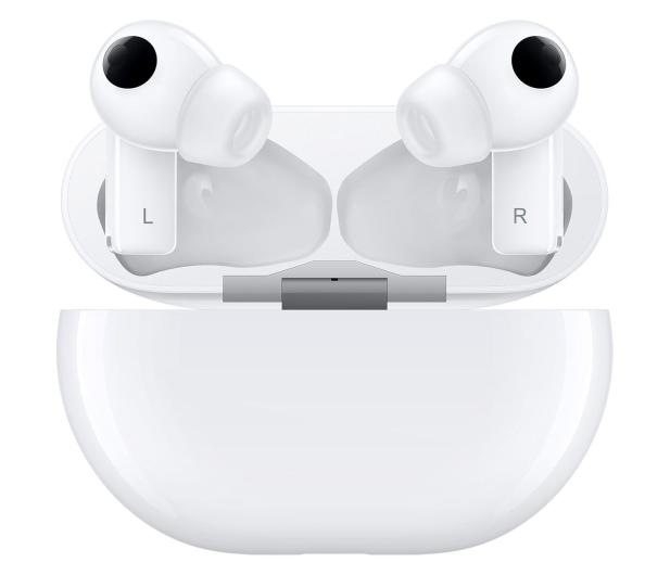 Huawei FreeBuds Pro Białe - 595134 - zdjęcie