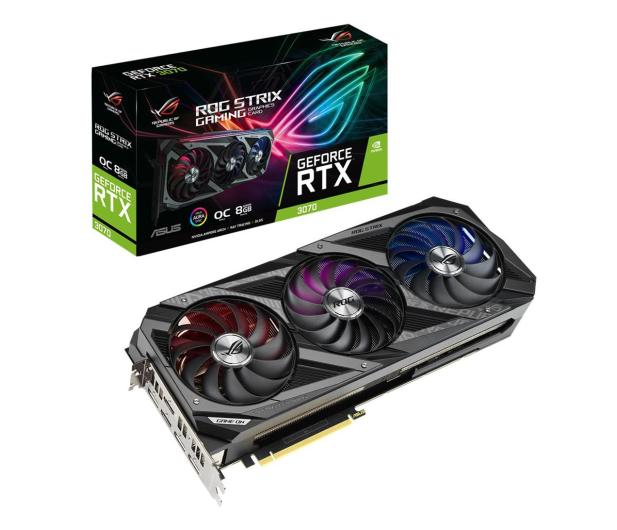 ASUS GeForce RTX 3070 ROG STRIX OC 8GB GDDR6  - 596768 - zdjęcie