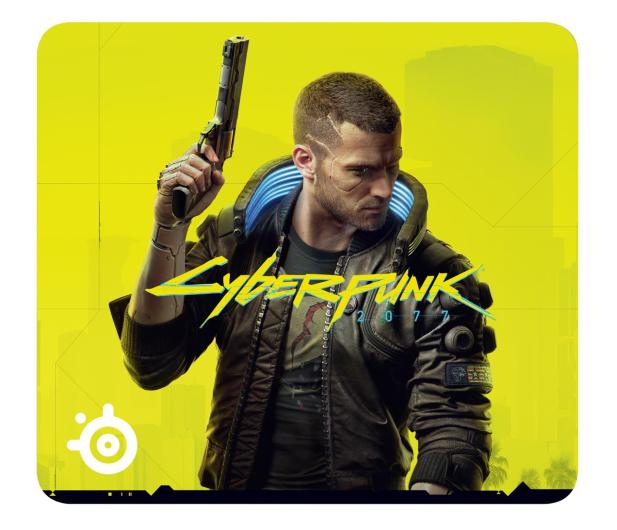 SteelSeries QCK CyberPunk 2077 Edition - 595703 - zdjęcie