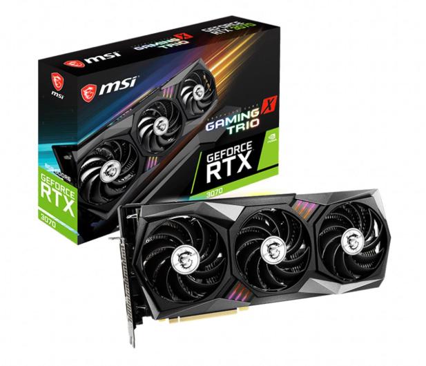 MSI GeForce RTX 3070 GAMING X TRIO 8GB GDDR6 - 597348 - zdjęcie