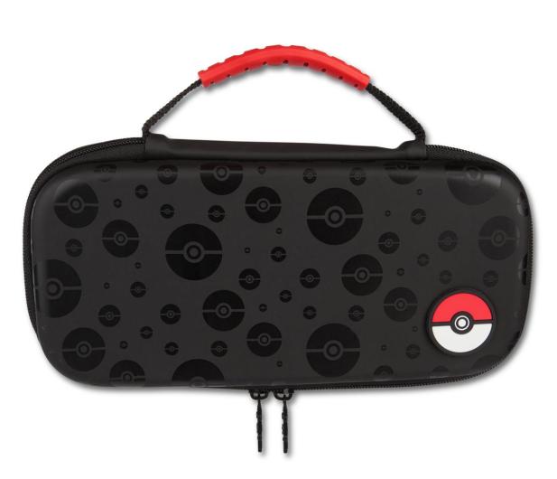 PowerA SWITCH Etui na konsole Pokemon PokeBall Czarne - 597080 - zdjęcie
