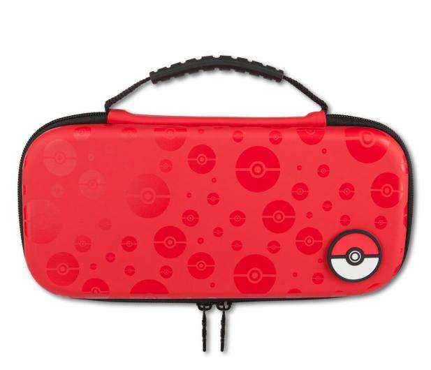 PowerA SWITCH Etui na konsole Pokemon PokeBall Czerwone - 597081 - zdjęcie