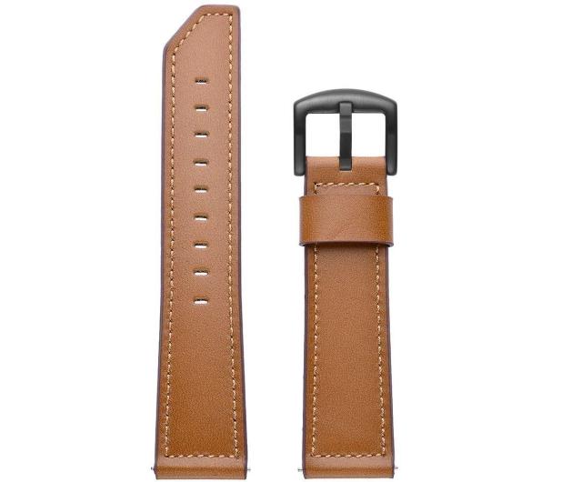 Tech-Protect Pasek Skórzany Herms do smartwatchy brązowy - 605280 - zdjęcie 2