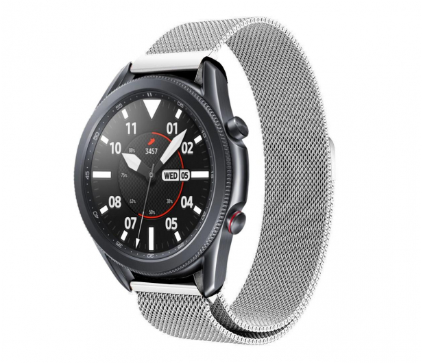 Tech-Protect Bransoleta Milaneseband do smartwatchy silver - 605359 - zdjęcie