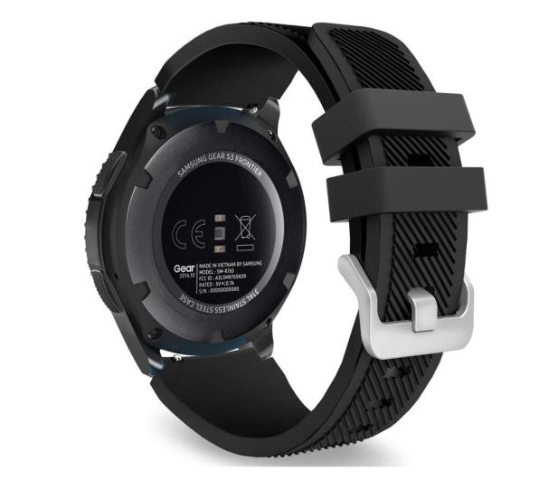 Tech-Protect Pasek Smoothband do smartwatchy czarny - 605295 - zdjęcie