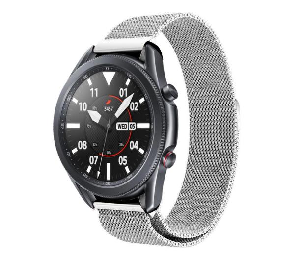 Tech-Protect Bransoleta Milaneseband do smartwatchy silver - 605355 - zdjęcie