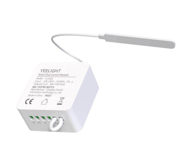 Yeelight Moduł przekaźnikowy Smart Dual Control - 605381 - zdjęcie 2