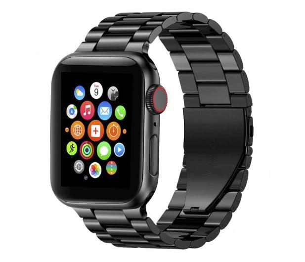 Tech-Protect Bransoleta Stainless do Apple Watch black - 605457 - zdjęcie
