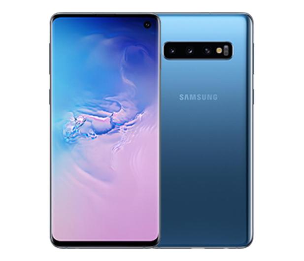 Samsung Galaxy S10 G973F Prism Blue - 602610 - zdjęcie