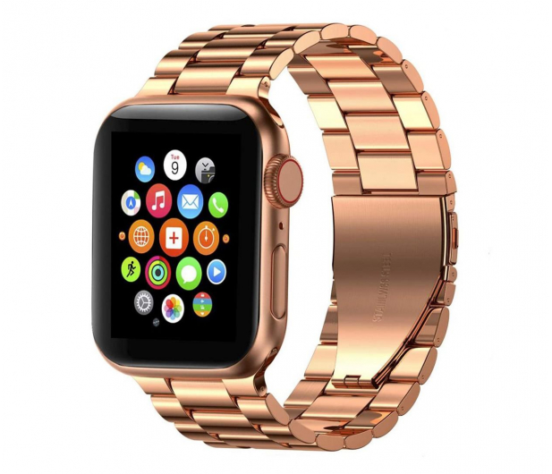 Tech-Protect Bransoleta Stainless do Apple Watch rose gold - 605454 - zdjęcie