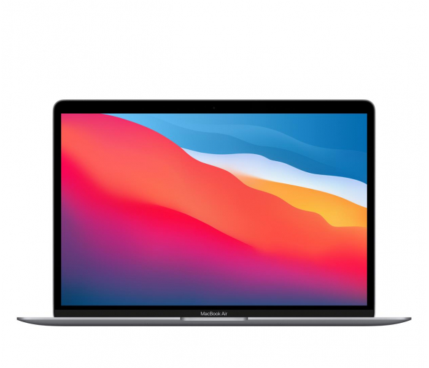Apple MacBook Air M1/8GB/256/Mac OS Space Gray - 606019 - zdjęcie