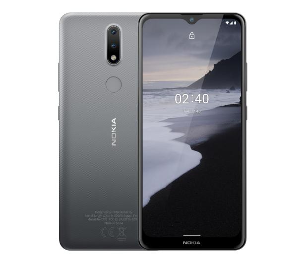 Nokia 2.4 Dual SIM 2/32GB szary - 596104 - zdjęcie