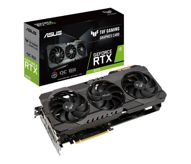 ASUS GeForce RTX 3070 TUF Gaming OC 8GB GDDR6 - 604113 - zdjęcie