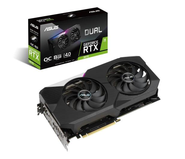 ASUS GeForce RTX 3070 DUAL OC 8GB GDDR6 - 604786 - zdjęcie